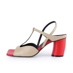 T Strap Wave Sandals / CG1040BERD